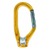 Petzl RollClip H-Frame Pulley Carabiner, Non-Locking