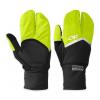 Outdoor Research Hot Pursuit Convertible Running Glove   Men's Black/Lemongrass X Small