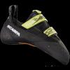 Scarpa Furia Climbing Shoe - Unisex, Black/Lime, 40 EU