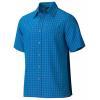 Marmot Eldridge Short Sleeve Shirt   Men's, Steel Onyx, Large