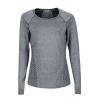 Marmot Rowe Long Sleeve T Shirt   Women's, Dark Steel, L