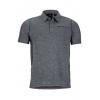 Marmot Drake Polo Short Sleeve T Shirt   Men's, Slate Grey, L