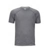 Marmot Accelerate Short Sleeve T Shirt   Men's, Grey Storm Heather, L
