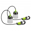 Kilimanjaro Gear The Lumavine Rechargeable Mini Led Lantern, Lithium Ion, 11 40 Lumen, Green