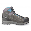 Scarpa Kailash Trek Gtx Backpacking Boots   Men's, Shark Grey/Lake Blue, Wide, 40