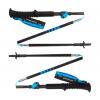 Black Diamond Distance Carbon Flz Adjustable Trekking Poles, 95 110 Cm, Ultra Blue