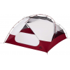 Msr Msr Elixir Tent   4 Person, 3 Season Footprint Included, White/Red