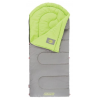 Coleman Dexter Point 40 Sleeping Bag, Contoured Head, Gray/Green, 78x33in