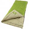 Coleman Outdoor Rectangular Flannel Sleeping Bag, Green Valley 40