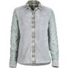 Marmot Hayden Reversible Long Sleeve Shirt   Women's Beetle Green/Grey Storm X Small