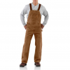 Carhartt Sandstone Bib Overall For Mens, Brown, 30/30