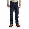 Carhartt Flame Resistant Rugged Flex Jean Straight Traditional Fit, Deep Indigo Wash, 30/30