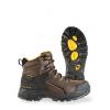 Chinook Footwear Hammerhead Waterproof Mid Boots   Men's, Brown, 10