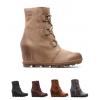 Sorel Joan Of Arctic Wedge Ii Boot   Womens, Black, 10 Us