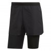 Adidas Outdoor Agravic 2 In 1 Parley Men's Short, Black, 30