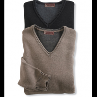 Patrick James Rough Edge V-Neck Sweater