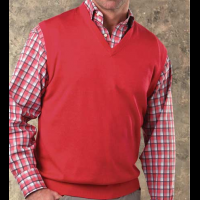 Reserve Solid V-neck Sweater Vest