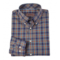 Patrick James Long Sleeve Tartan Sport Shirt