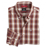 Victorinox Yankee Plaid Long Sleeve Sport Shirt