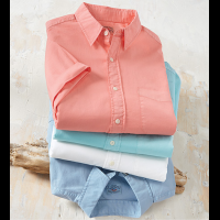 Faherty Ventura Short Sleeve Sport Shirt