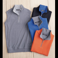 Carnoustie Quarter Zip Vest