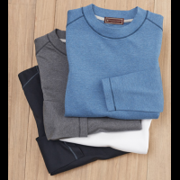 Patrick James Crewneck Long Sleeve Tee