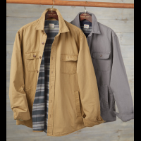 Faherty Blanket-Lined Shirt Jacket
