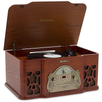 Wellington(TM) Record Player Retro Vinyl Turntable Stereo System