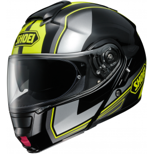 SHOEI Neotec Imminent Helmet (Black/Yellow Sm)