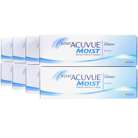 1 Day Acuvue Moist 8-Box Daily Contacts Acuvue