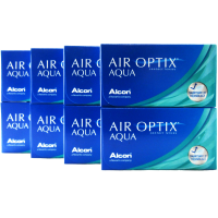 CIBA Vision Air Optix Aqua 8-Box Monthly Contacts
