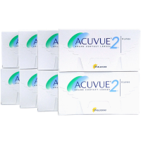 Acuvue 2 8-Box 1-2 Week Contacts Acuvue