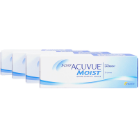 1 Day Acuvue Moist 4-Box Daily Contacts Acuvue
