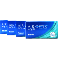 CIBA Vision Air Optix Aqua 4-Box Monthly Contacts