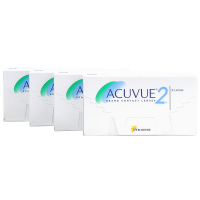 Acuvue 2 4-Box 1-2 Week Contacts Acuvue