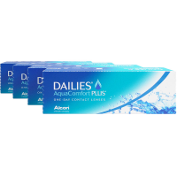 Focus Dailies Aqua Comfort Plus 4-Box [Daily Contacts] CIBA Vision