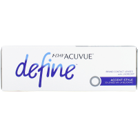 1 Day Acuvue Define Moist Accent Syle Daily Contact Lenses