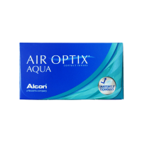 CIBA Vision Air Optix Aqua Monthly Contacts