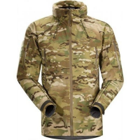 Arc'teryx LEAF Alpha Jacket Camo GEN 2 (Discontinued Model) in Black