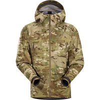 Arc'teryx LEAF Alpha Light Weight Jacket Camo GEN 2 (Discontinued Model) in Green