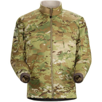 Arc'teryx LEAF Cold Windproof Jacket Light Weight - Camo in Green