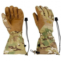 Outdoor Research Camo Super Couloir Glove Shells in Green