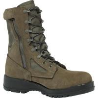 Belleville 639Z Composite Toe Hot Weather Side-Zip Composite Toe Boots in Brown