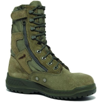 Belleville 610 Z Hot Weather Tactical Side Zip Boots in Green