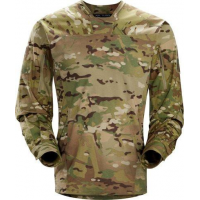 Art'teryx LEAF Talos Light Weight Halfshell Jacket - Camo in Green