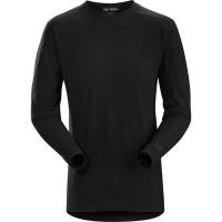Arc'teryx LEAF Cold Windproof Long Sleeve Shirt AR Men's (Wool) in Black