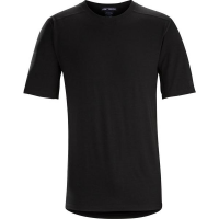 Arc'teryx LEAF Cold Windproof T-Shirt AR Men's (Wool) in Black
