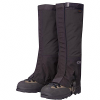 Outdoor Research Green Gaiters (USA) in Black