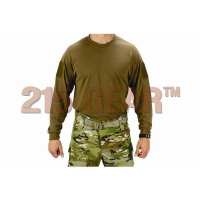 215 Gear Operator's Shirt, V3, Long Sleeve in Coyote