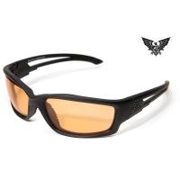 Edge Tactical Eyewear Blade Runner - Matte Black Frame / Tigers Eye Lens